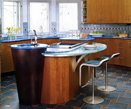 3 Types of Blue Granite You Need in Your Kitchen