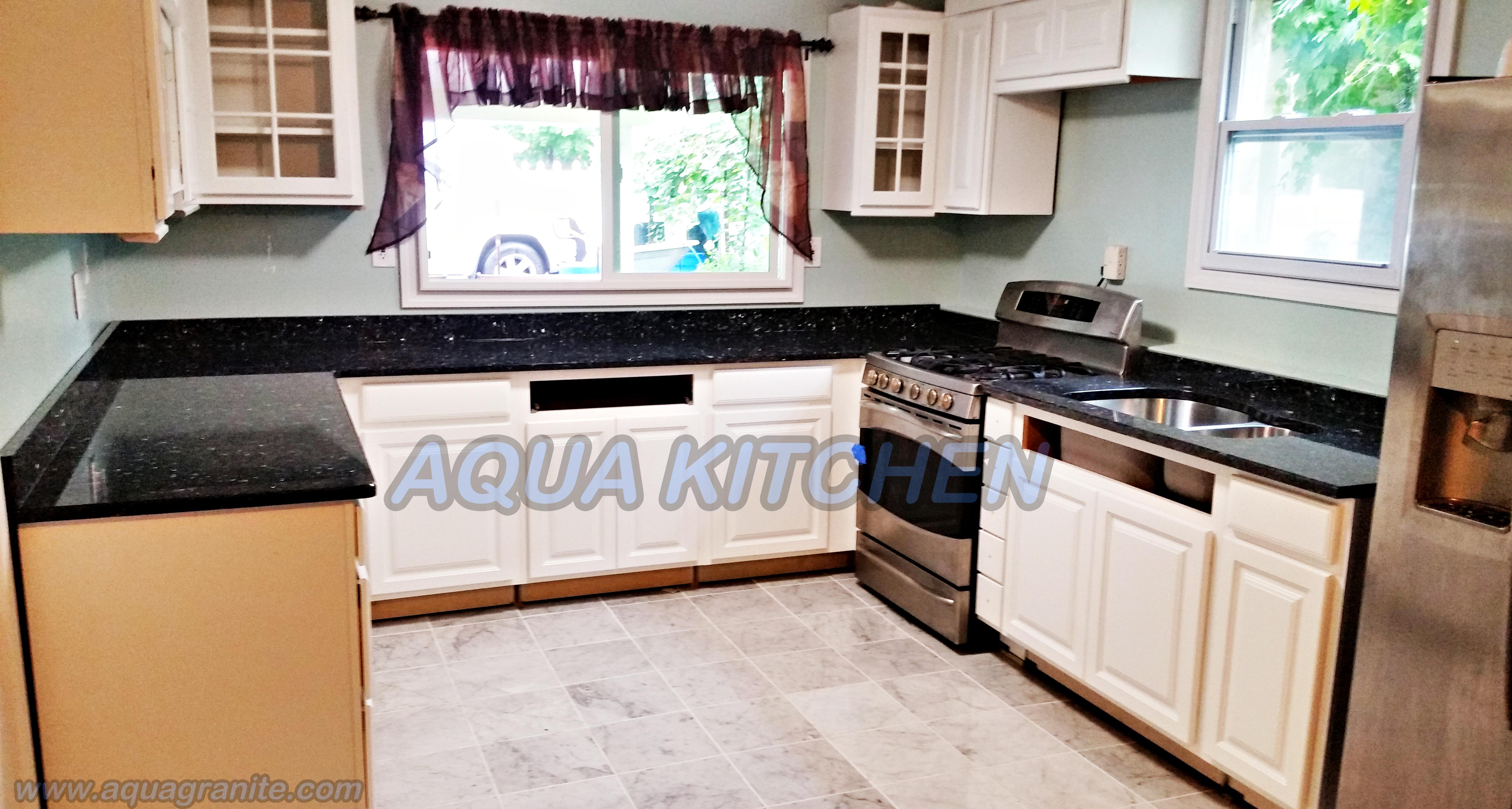 Granite Countertops Nj : Blue Pearl Granite Countertop Installation in Wayne, New Jersey
