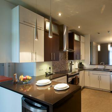 Kitchen cabinets landing for Semi custom bathroom cabinets