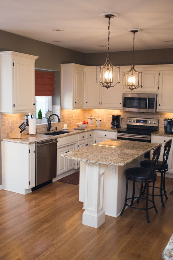 Giallo Ornamental Granite Countertop Installation In