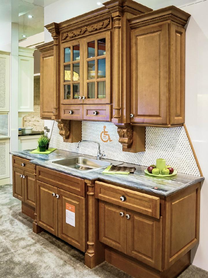 Fabuwood Hallmark Pecan Kitchen Cabinets Quality