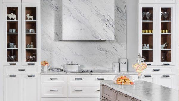 Onyx Horizon Gray Fabuwood Kitchen Cabinets