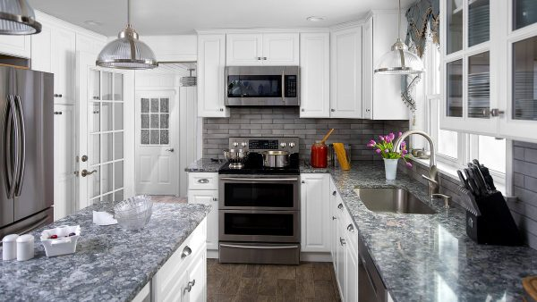 Hallmark Frost Value Premium Fabuwood Kitchen Cabinets
