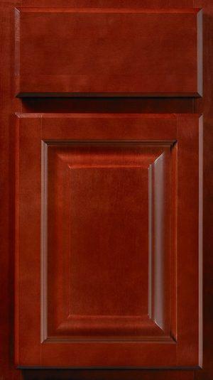 Wolf Saginaw Crimson Kitchen Cabinets