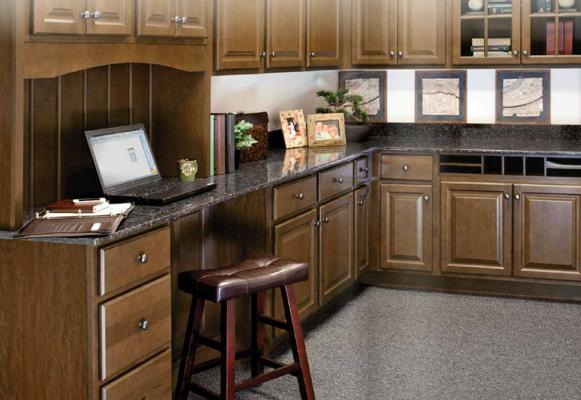 Kitchen Cabinets NJ Wolf Saginaw Chestnut