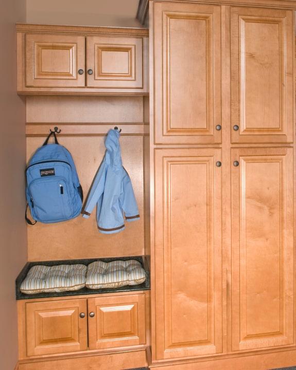 Wolf Saginaw Honey Kitchen Cabinets