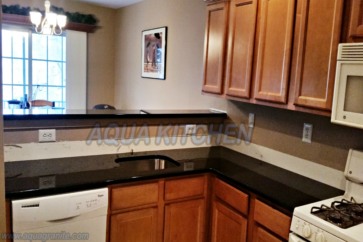Black Pearl Granite Aqua Kitchen And Bath Design Center