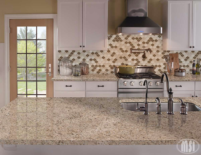 Giallo Ornamental Granite Traditional Look For Modern Homes