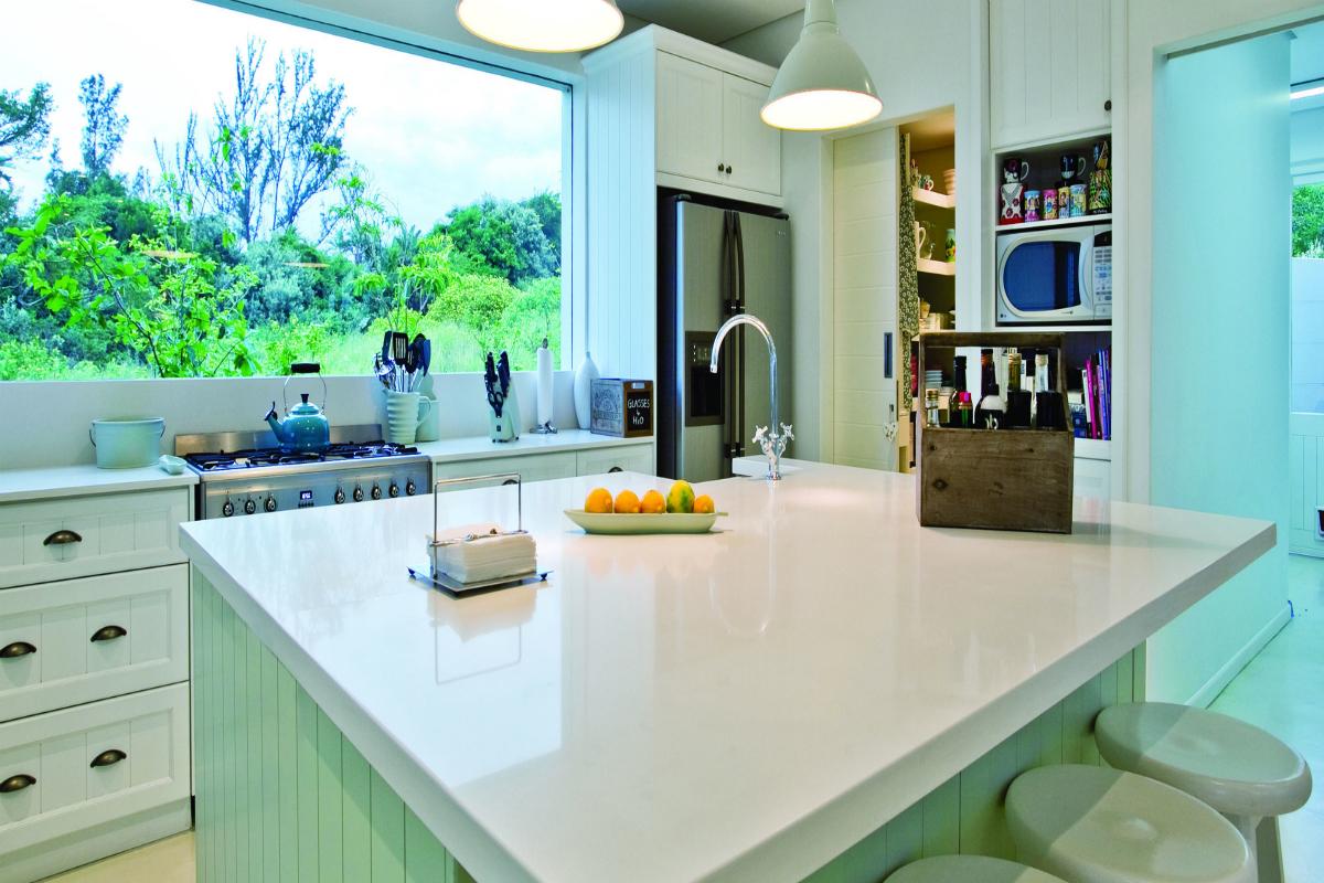 Pure White Quartz - Aqua Kitchen and Bath Design Center