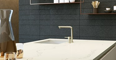 Caesarstone Statuario Nuvo Quartz High End Marble Look At