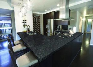 Kitchen cabinets and countertops Wayne NJ Steel Gray Granite Project