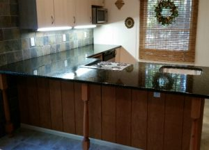 Kitchen cabinets and kitchen countertops Wayne NJ Uba Tuba Granite Project