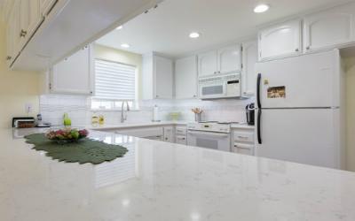 Marble like Quartz Countertops NJ Cashmere Carrara Quartz
