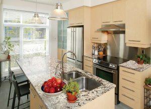 Kitchen Cabinets and Kitchen Countertops Lincoln Park NJ Bianco Antico Granite