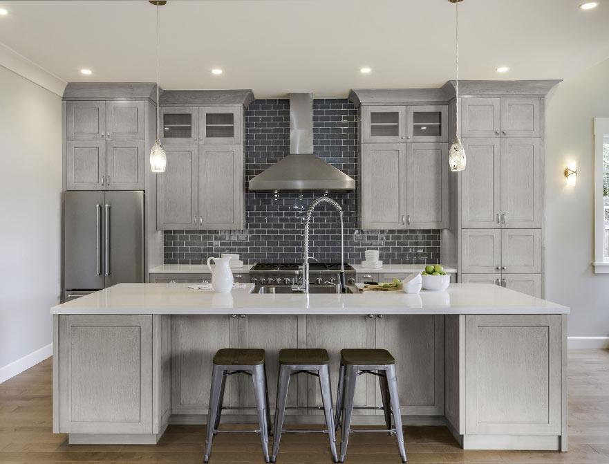 Fabuwood Cabinets Allure Series Galaxy Horizon Kitchen