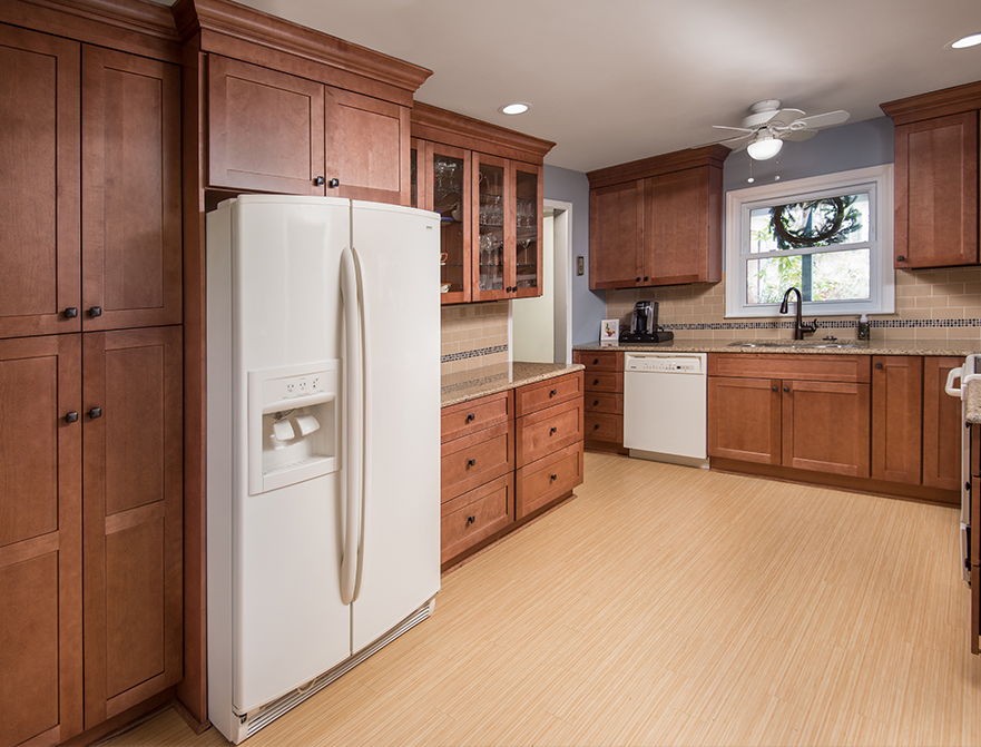 Fabuwood Cabinets Allure Series Galaxy Pecan Kitchen