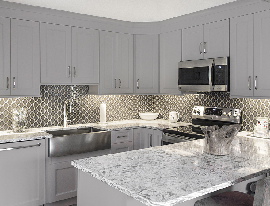 Fabuwood Cabinets Allure Series Nexus Slate Kitchen