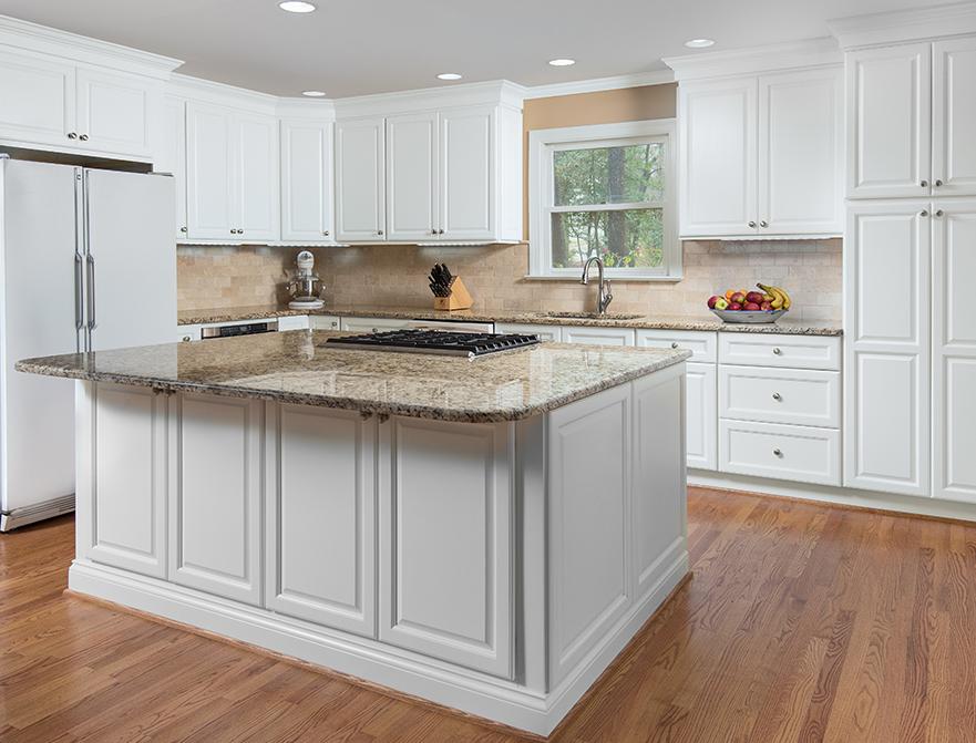 Fabuwood Cabinets Premium Value Series Hallmark Frost Kitchen