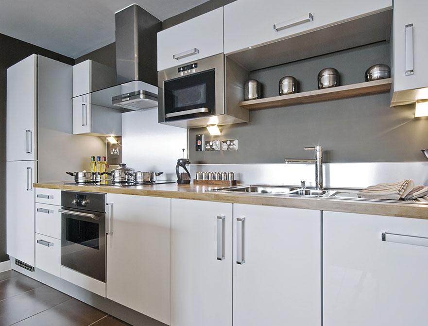 Fabuwood Cabinets Prima Bianco Kitchen