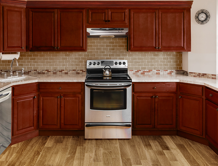 Fabuwood Cabinets Value Series Landmark Brandy Kitchen