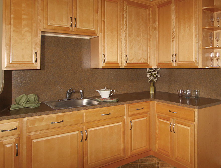 Fabuwood Cabinets Value Series Landmark Natural Kitchen