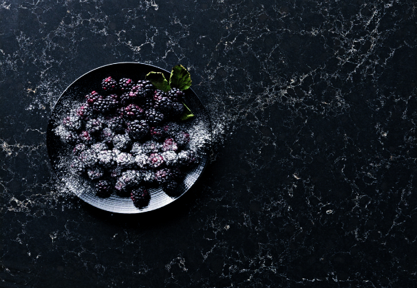 Caesarstone Colors Dark Classico Collection Vanilla Noir