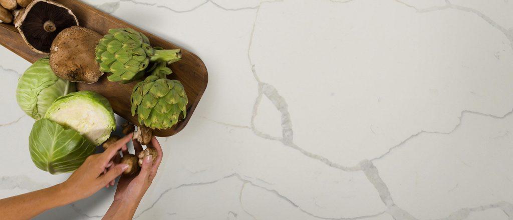 Avora Port Imperial Kitchen Installation: MSI Calacatta Classique Quartz