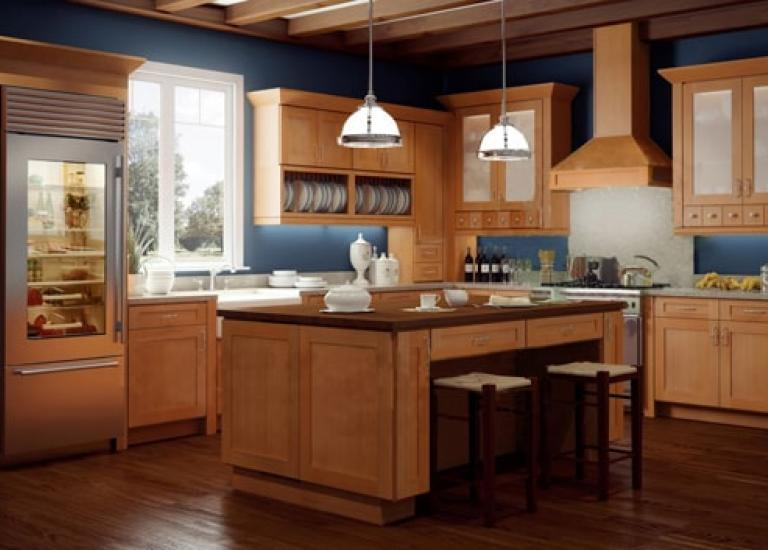 Types of Kitchen Cabinets Ready to Assemble Kitchen Cabinets Shaker Honey Forevermark