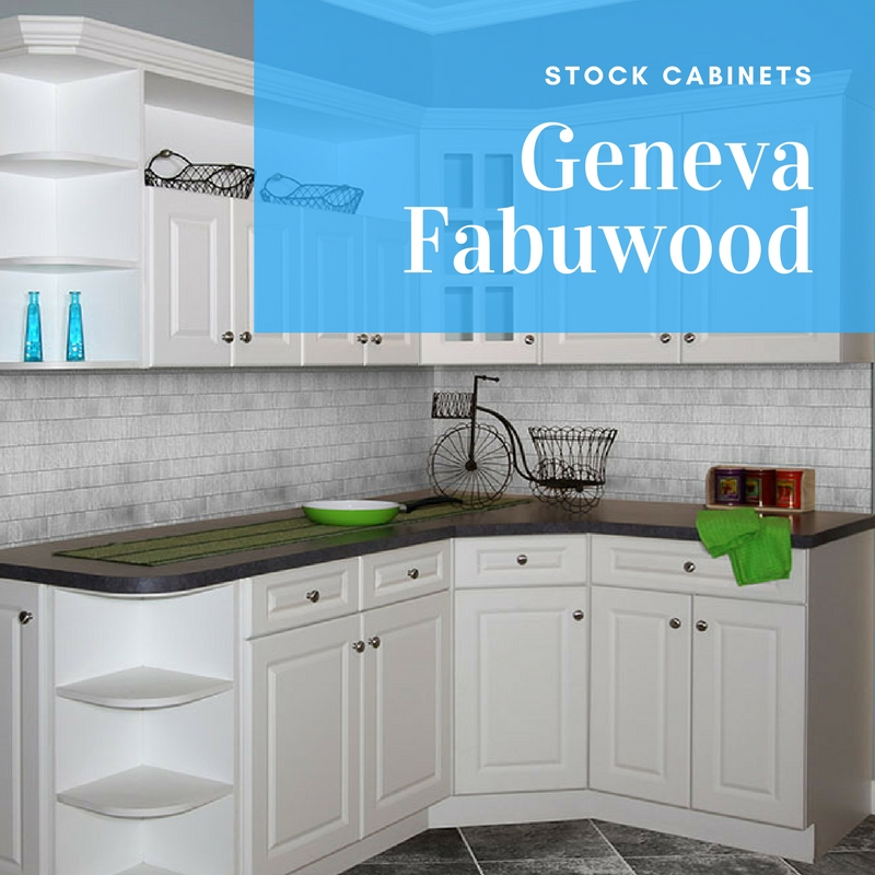 Types of kitchen cabinets Geneva Kitchen Cabinets Stock Cabinets