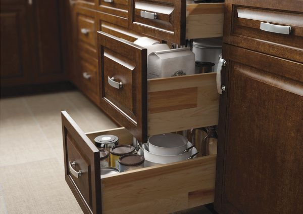Types of Kitchen Cabinets: Base Cabinets Wolf Saginaw Chestnut