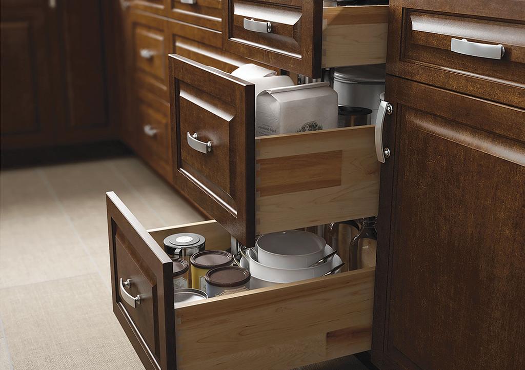 Types of Kitchen Cabinets: Base Cabinets Wolf Saginaw Chestnut