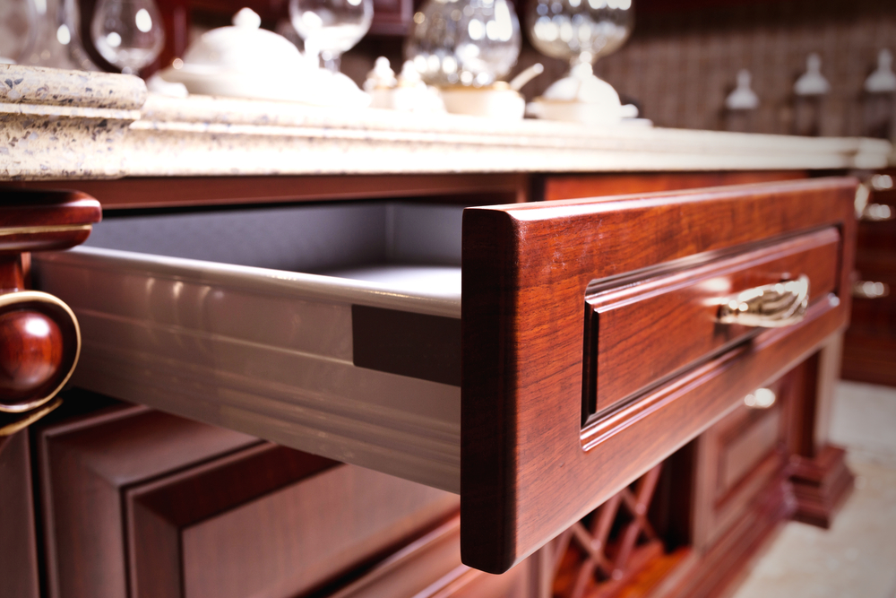 Types of Kitchen Cabinets: Drawer Cabinets