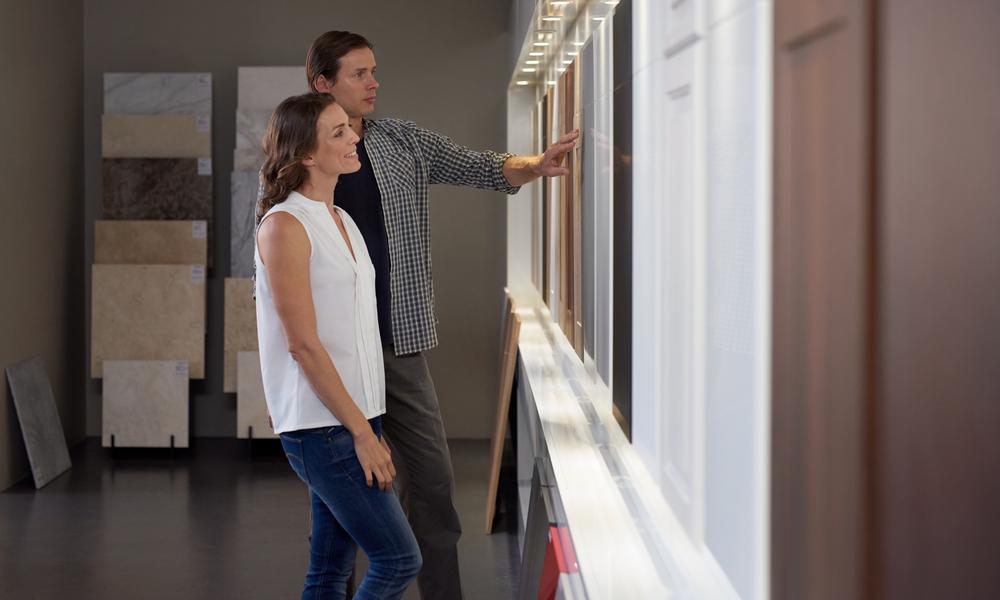 Choosing Types of Kitchen Cabinets at Aqua Kitchen and Bath Design Center, Wayne NJ