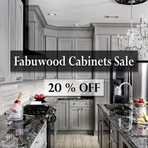 Fabuwood Cabinets Special Aqua Kitchen and Bath Design Center, Wayne NJ