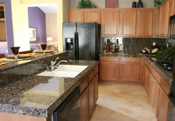 Baltic Brown Granite Kitchen Design