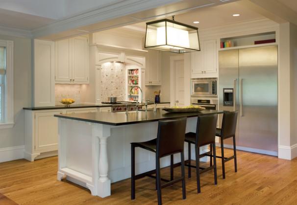 Black Pearl Granite Design by Dean Poritzky Custom Homes