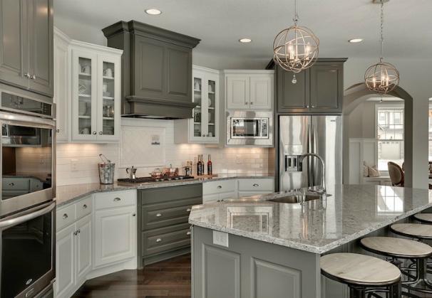 Popular Types of White Granite Countertops: Moon White Granite