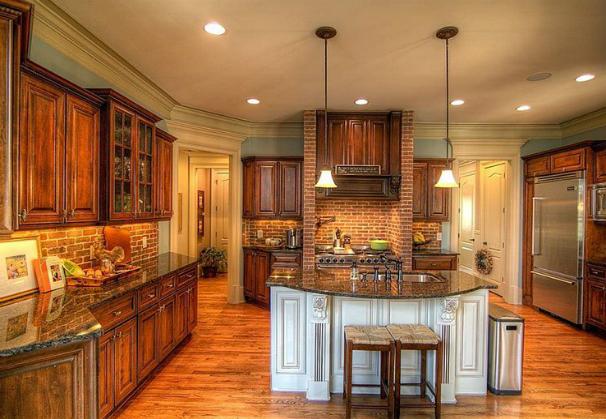 Tan Brown Granite Countertops Kitchen Design at Zillow