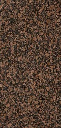 Types of Granite: Baltic Brown Detail