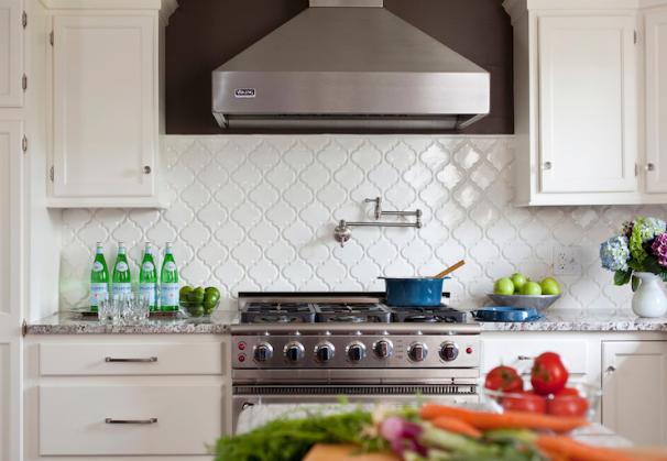 Types of Granite: Bianco Antico Design by Karen Viscito Interiors