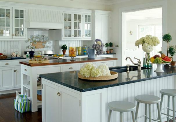 Uba Tuba Granite Countertops Design by Lynn Morgan Design
