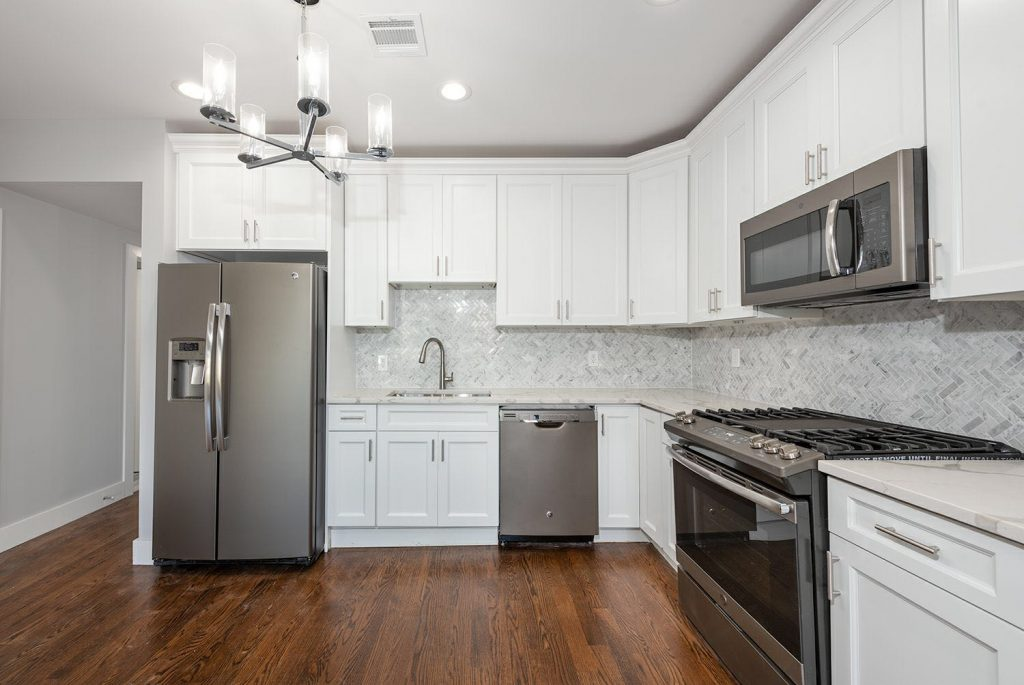 Forevermark Cabinets and MSI Quartz Installation in Jersey City