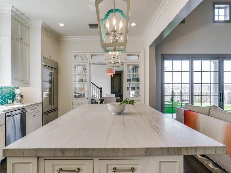 Macaubas Quartzite Special Aqua Kitchen and Bath Design Center Wayne NJ