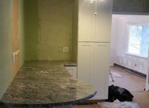 Viscont White Granite Installation in NJ