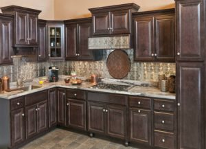 Wolf Saginaw Dark Sable Kitchen Cabinets Deal for Little Falls NJ Homeowners