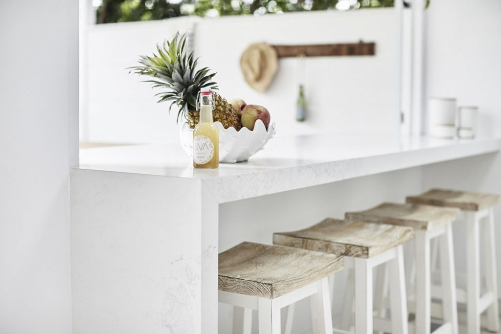 Marble Looking Quartz Counters Beauty And Function Without Hassle
