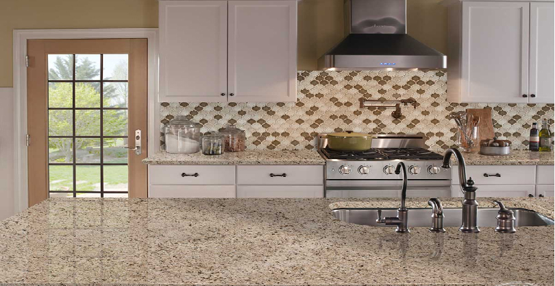 Giallo Ornamental Granite Countertops NJ