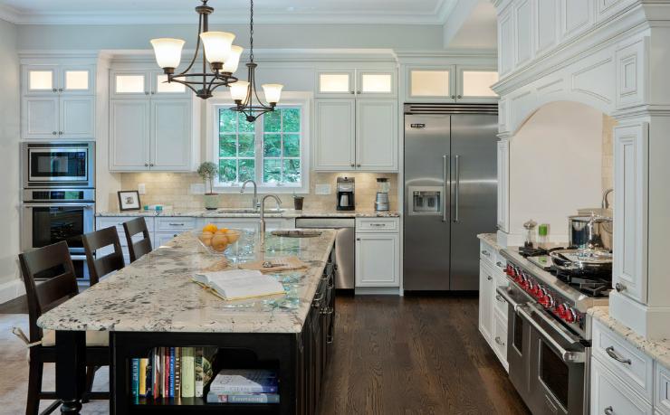 Juparana Delicatus Granite Contemporary Kitchen