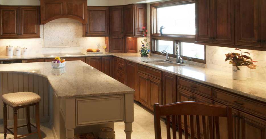 Arcata Door Style Custom Kitchen Cabinets by Fieldstone Cabinetry