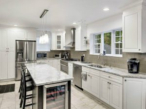 Cedar Grove Kitchen Remodel Super White Quartzite
